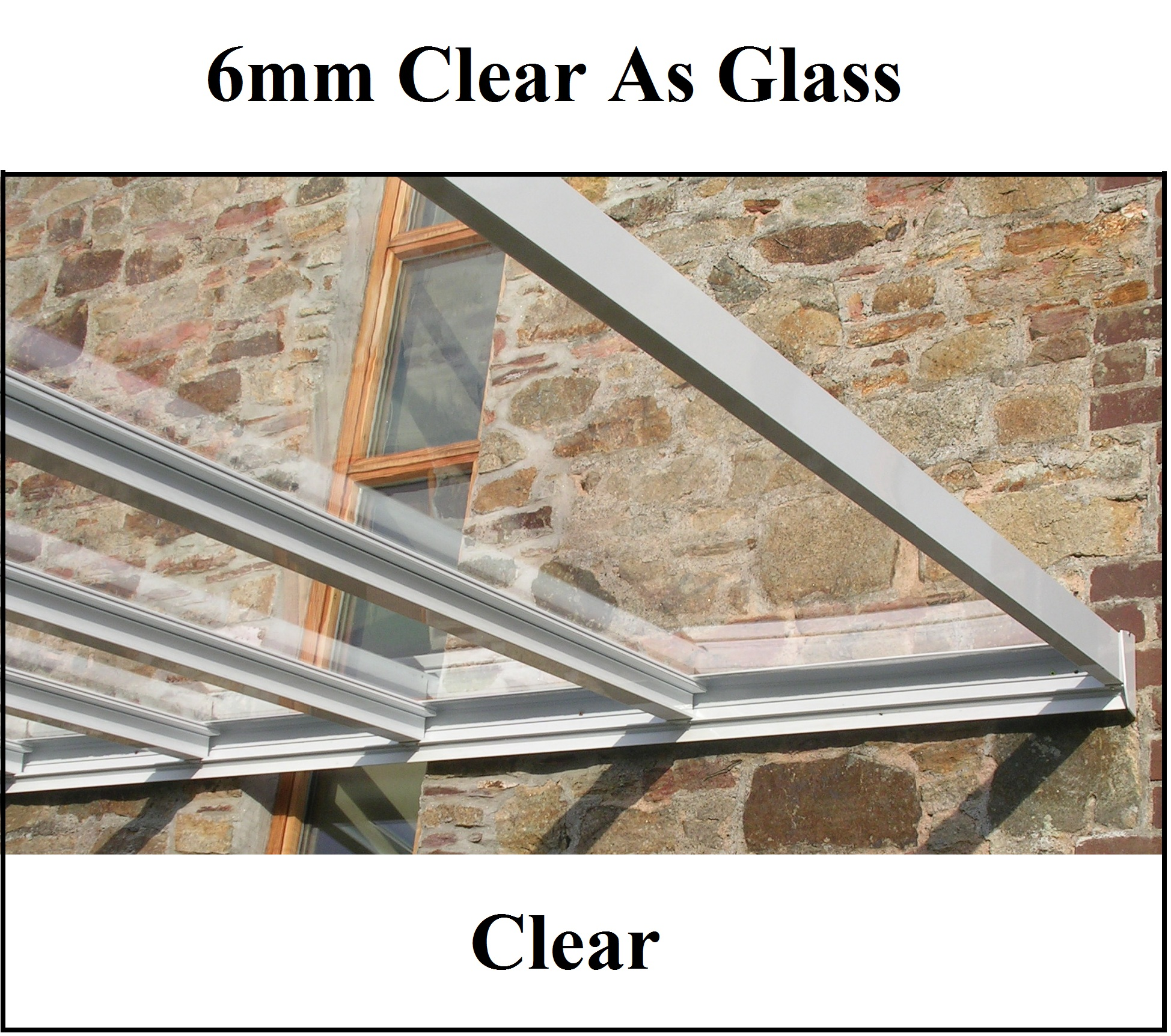6mm Plate Clear As Glass Click Here To View