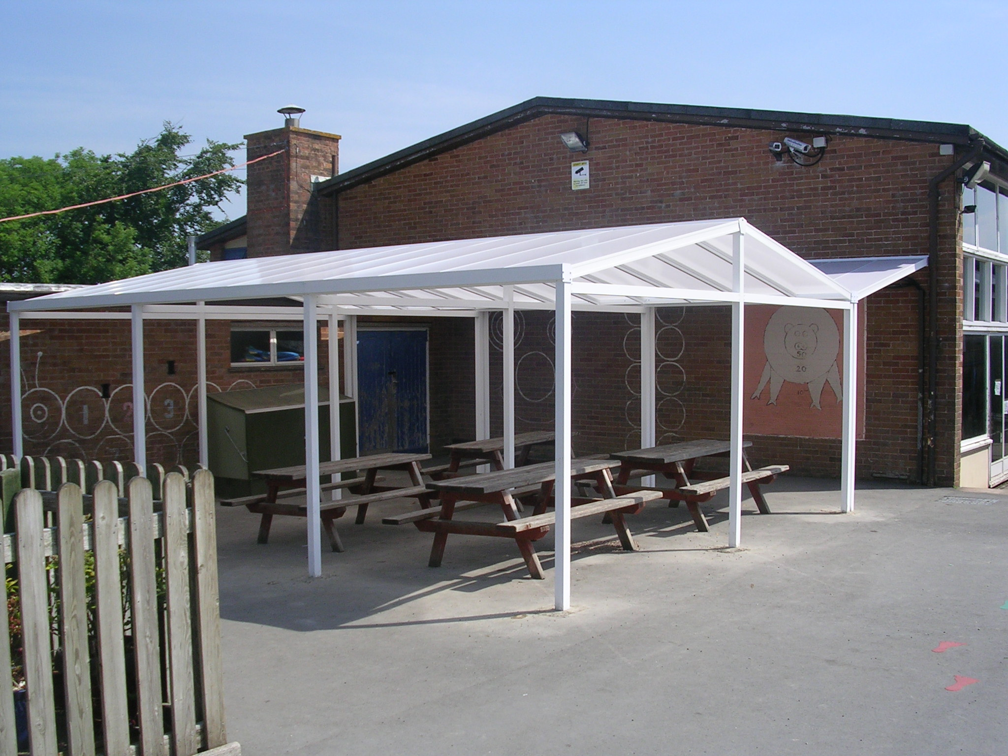 Outdoor Canopies Product : School canopies