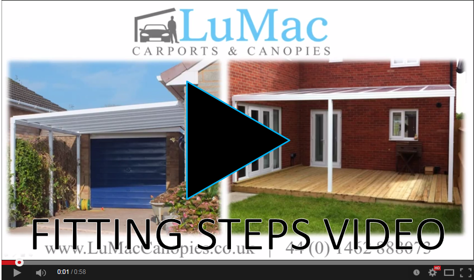 Carport fitting steps